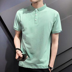 New men's trendy short-sleeved t-shirt